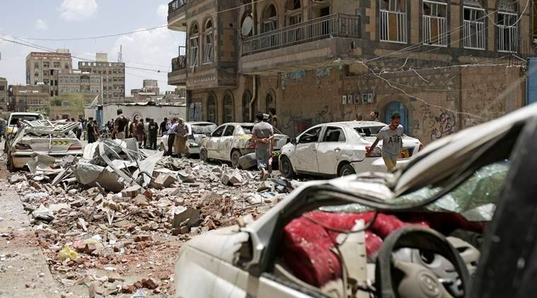 Saudi-led coalition in Yemen strikes Sanaa, casualties reported