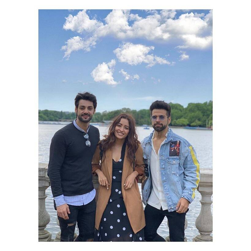 Rithvik Dhanjani, Asha Negi and Karan Wahi's London vacation