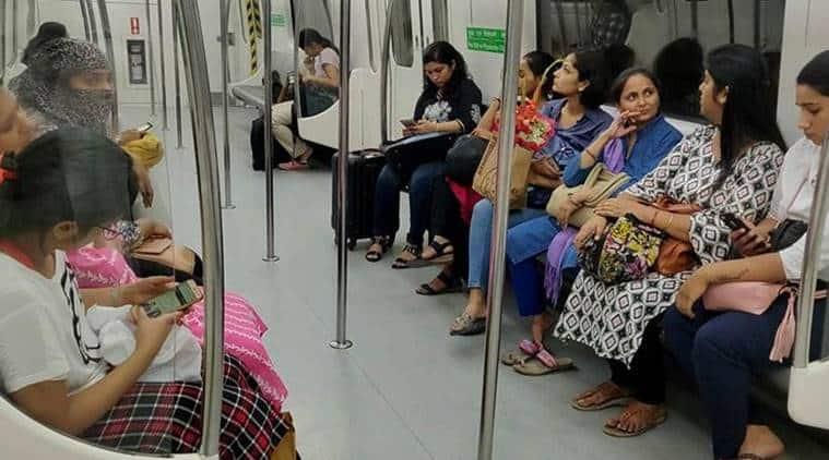 delhi metro, free rides for women delhi metro, delhi metro free rides for women, arvind kejriwal, dmrc, women in delhi metro,
