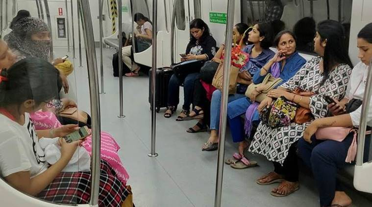 delhi metro, free rides for women delhi metro, delhi metro free rides for women, arvind kejriwal, dmrc, women in delhi metro,