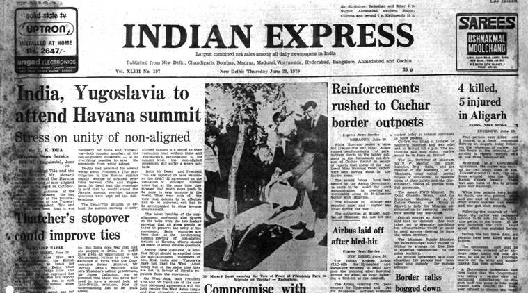 Forty Years Ago, June 21, 1979: Unrest in Assam