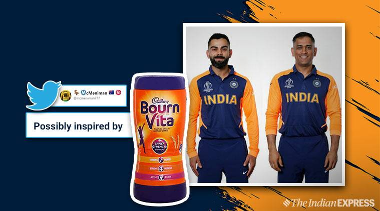 team india away jersey icc world cup cricket world cup bcci india