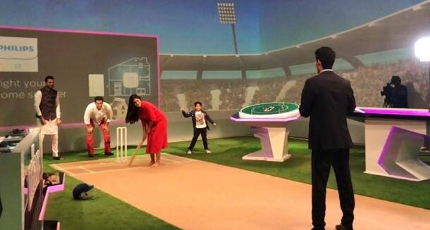 katrina kaif plays cricket