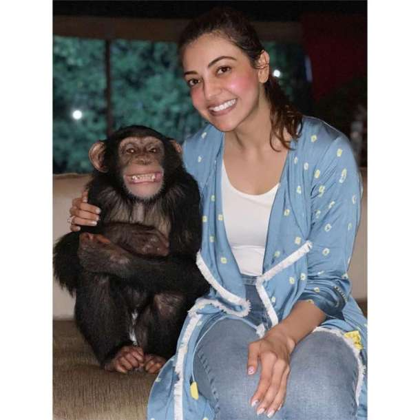 kajal aggarwal dubai photos
