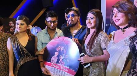 deepak thakur, somi khan album launch photos