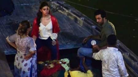alia bhatt and ranbir kapoor in varanasi for brahmastra