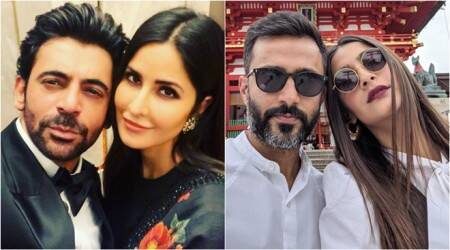 sunil grover with katrina kaif, mahesh babu and sonam kapoor photos