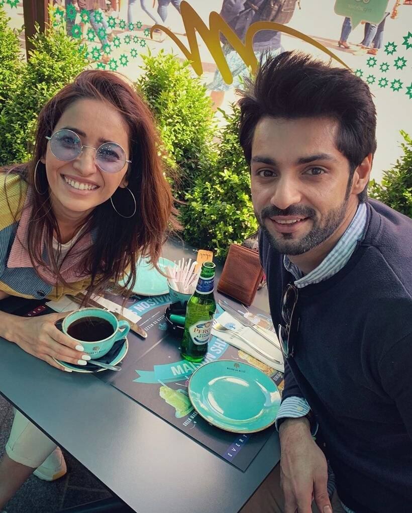 asha negi with karan wahi
