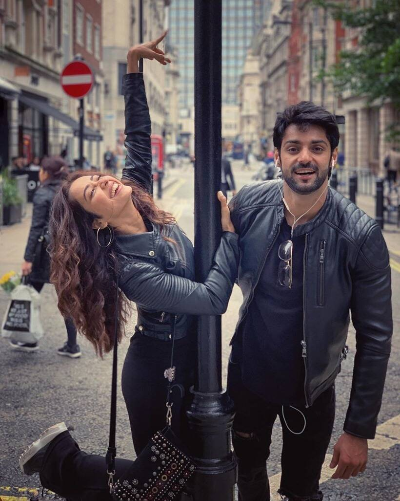 Rithvik Dhanjani, Asha Negi and Karan Wahi's London photos