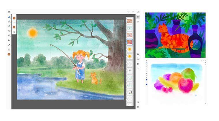 Adobe Fresco is Adobe's painting app for the iPad