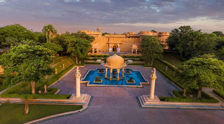 Tripadvisor's list best service, pink city Jaipur, The Oberoi Rajvilas