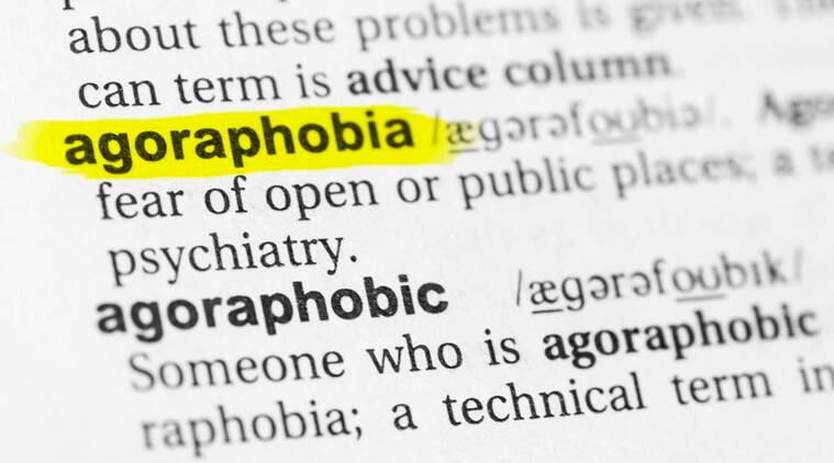 agoraphobia, fear of spaces, anxiety, indian express