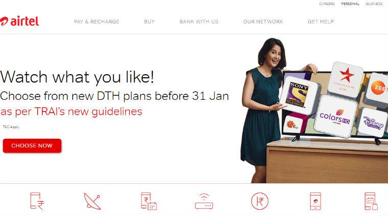 Airtel Digital TV now offers 100 long-term tariff plans
