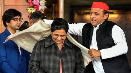 mayawati, akhilesh yadav, SP-BSP alliance, Mayawati on S-BSP alliance, UP assembly polls, SP bSP alliance break up, BJP, Adityanath indian express, india news, latest news