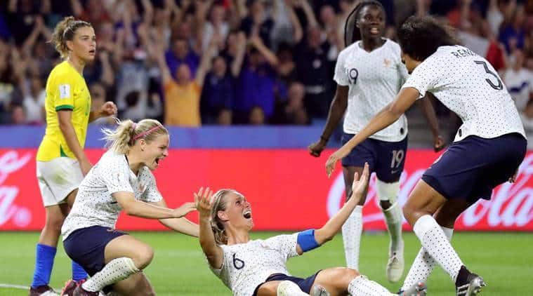 fifa world cup, France coach Amandine Henry, women world cup quater finals, brasil vs france football, soccer news, indian express