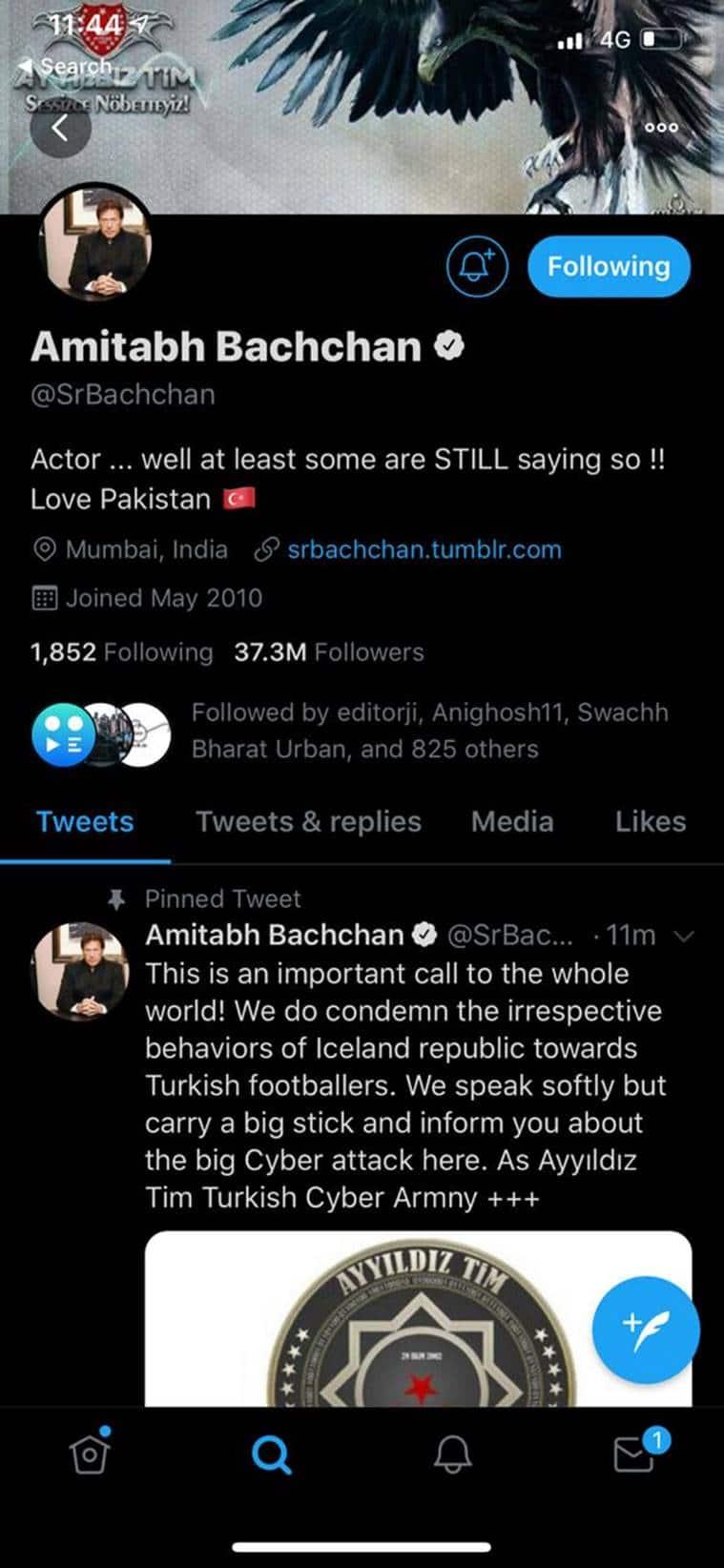 Amitabh Bachchan, Amitabh Bachchan twitter, Amitabh Bachchan twitter account hacked, Amitabh Bachchan twitter account, Amitabh Bachchan twitter hacked, Amitabh, Amitabh Bachchan latest news