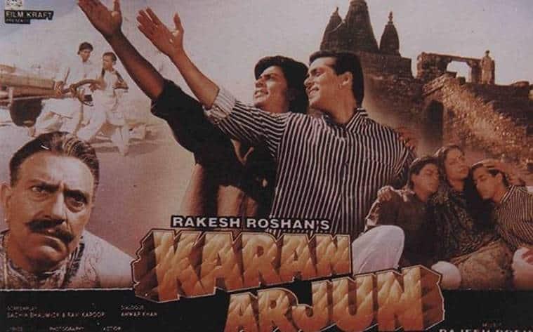 Amrish Puri Karan Arjun