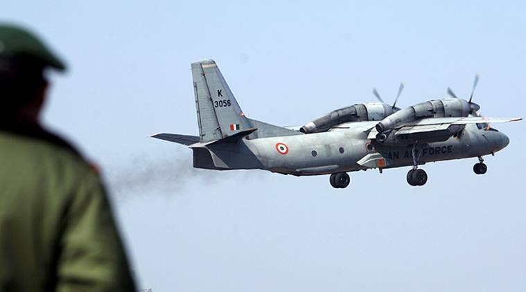 an-32 aircraft, an-32 plane, congress, defence ministry, defence minister, Indian Air Force, AN-32 missing, live updates, IAF rescue mission, IAF AN 32 search, IAF Aircraft missing, AN-32, IAF AN-32, India news, Indian Express news