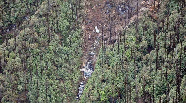 Indian Air Force, AN32 crash, IAF AN 32 crash, Arunachal Pradesh, Rescue team, Air Force, Anton 32 crash, IAF crash, Indian Army, NDRF, India news, Indian Express