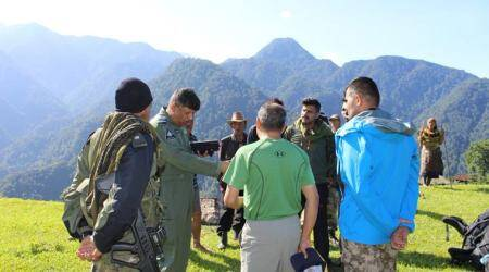 An-32 aircraft crash, An-32 crash, An-32 flight crash, Indian Air Force, IAF An-32 aircraft crash, Arunachal news, Arunachal Pradesh, An-32 wreckage, An-32 rescue operation, indian express