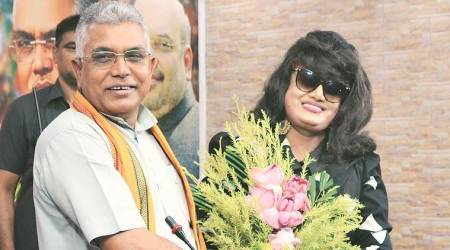 anju ghosh, bangladeshi actor anju ghosh, anju ghosh joins bjp, bangladeshi actor joins bjp, bjp west bengal