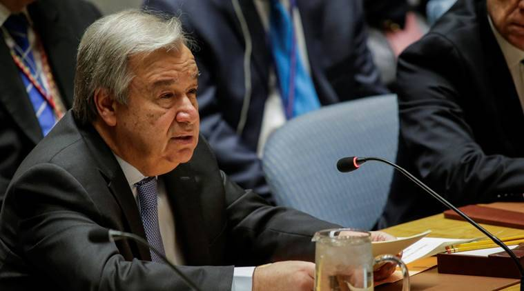 UNITED NATIONS, UN CHIEF ANTONIO GUTERRES, MYANMAR FLOODS, INDIA FLOODS, SOUTH EAST ASIA, world news, indian express