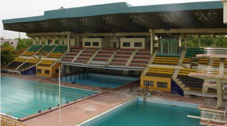 Sports Development Authority of Tamil Nadu. Aquatic Complex, Chennai pool, swimming pool