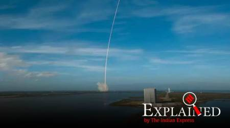 NASA, NASA Satellite launch, SpaceX, Sapce X heavylift rockets, Atomic Clock, Deep Space Atomic Clock, ASCENT green fuel, Space, technology, Indian Express