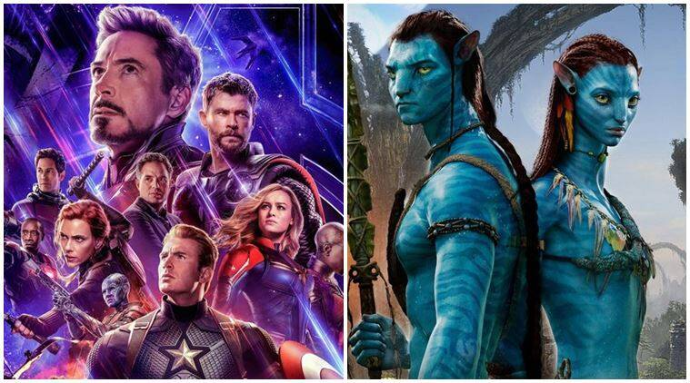 Avengers Endgame vs avatar box office