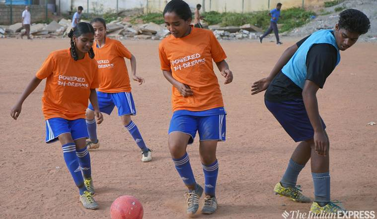 Bangalore-footballers-young-underprivileged-Dream-A-dream-france-FIFA-world-cup-2019-womens-indian