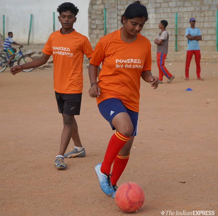 Bangalore-footballers-young-underprivileged-Dream-A-dream-france-FIFA-world-cup-indian-Parimala