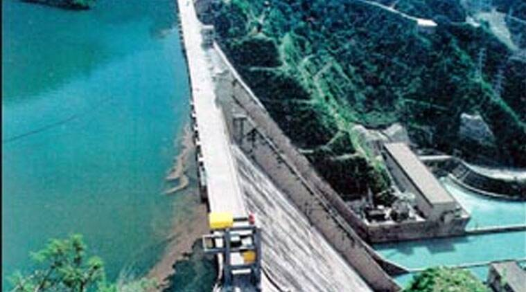 Image result for Water released from Bhakra filled in low-lying areas of Punjab, state on high alert