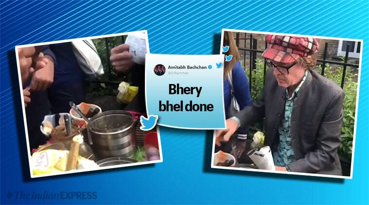 Bhel or jhalmuri? Video of British man making snack outside World Cup venue goes viral