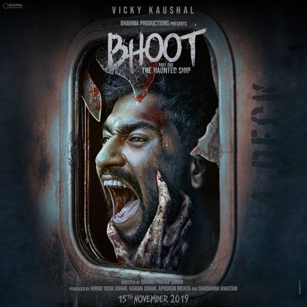 bhoot poster vicky kaushal