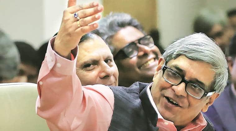 NITI Aayog, NITI Aayog reconstituted, Bibek Debroy, Modi, Rajiv Kumar, Planning Commission, Ramesh Chand, VK Paul, Indian Express