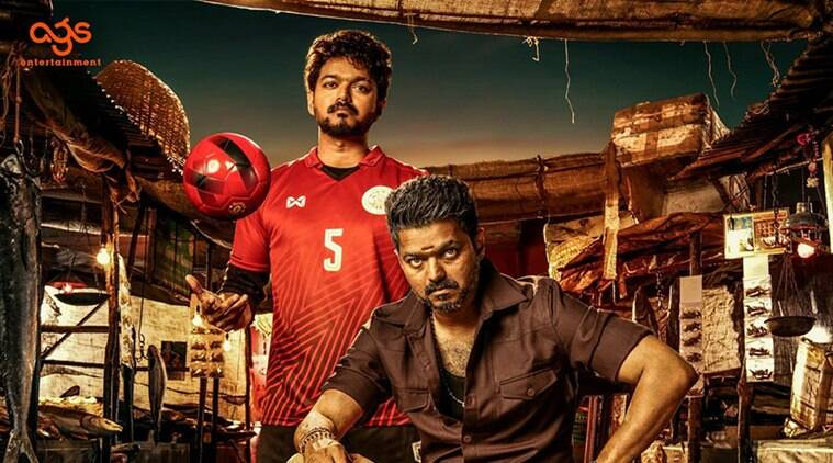 Celebrities respond to Thalapathy 63 aka BIGIL first look