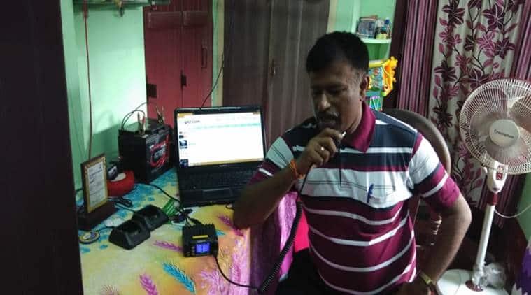 tripura government, tripura disaster management, biswajit saha, tripura police, ameteur radio station, ameteur radio station tripura, northeast news, Indian Express