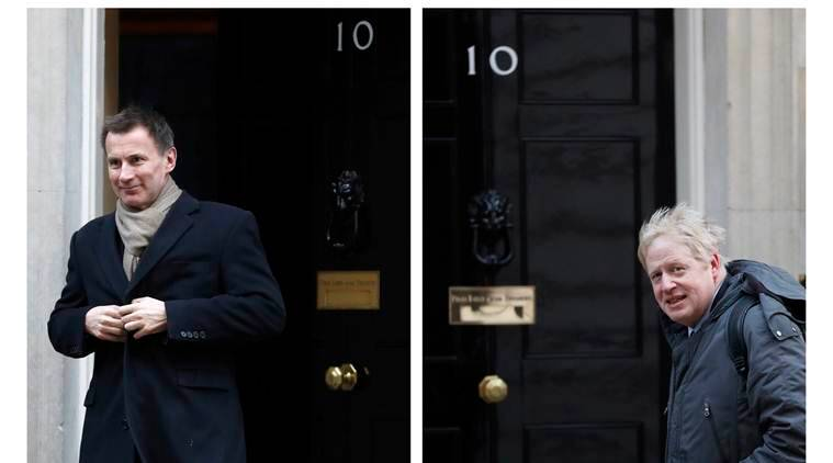 Then there were two: Boris Johnson and Jeremy Hunt fight for British PM job
