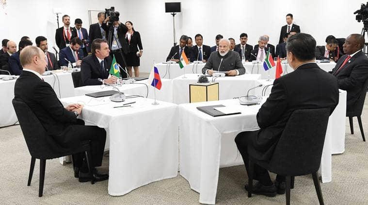 G20, G20 Summit, G20 modi, g20 summit modi, g20 summit narendra modi, modi trump g20, g20 modi trump, modi putin, modi abe, modi in Japan, Osaka G20, G20 summit live updates, G20 news, G20 japan news, Japan g20 news, G20 summit japan, India G20 summit, indian express