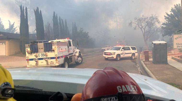 california fire, california fire 2018, chico, Paradise High School, Paradise High School graduation, california news