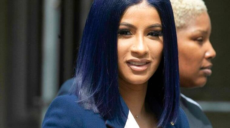 Rapper Cardi B pleads not guilty to strip club brawl charges
