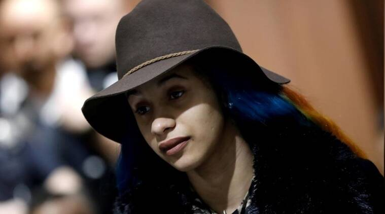 Rapper cardi b faces felony charges over strip club fight for B b com