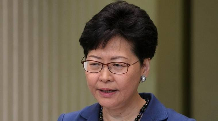 Hong Kong, Hong Kong news, Carrie Lam, Carrie Lam extridition law,Hong Kong extridition law, World news, Indian Express news, Latest news