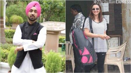 Diljit Dosanjh and Parineeti Chopra photo