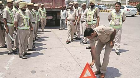 Panchkula, Panchkula protests, Panchkula crimes, Panchkula murder, Panchkula murders, Panchkula Police, Chandigarh news, city news, Indian Express