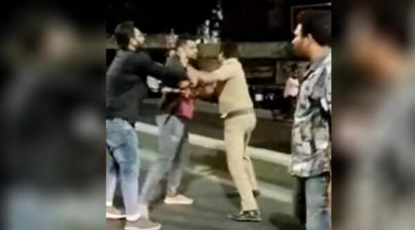 chennai police attacked, chennai police assault, chennai police assault viral video, chennai police assault case, chennai news