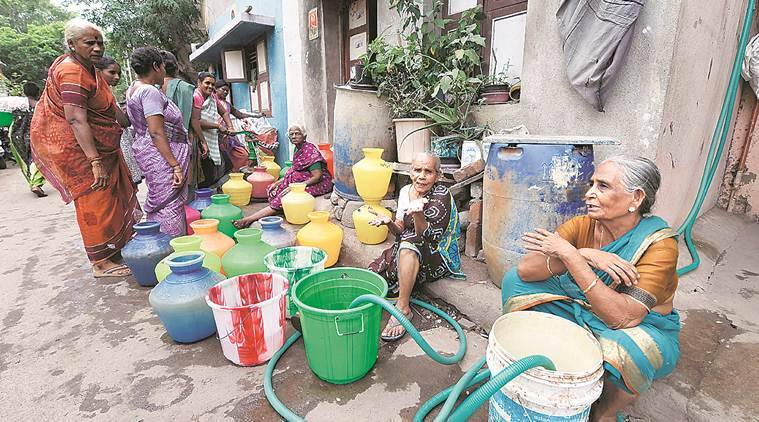 chennai water crisis, tamil nadu water crisis, water crisis in tamil nadu, water crisis in chennai, water crisis, chennai water shortage, india news, Indian Express