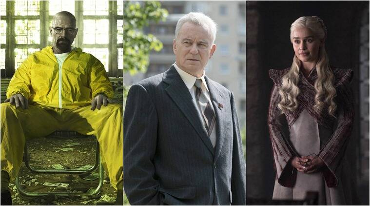 Chernobyl game of thrones breaking bad tv shows