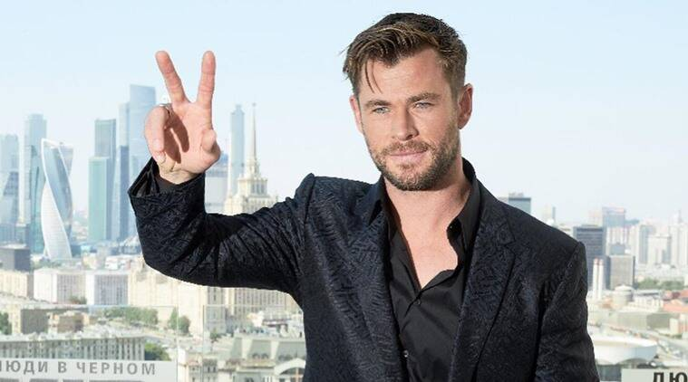 Chris Hemsworth on men in black international