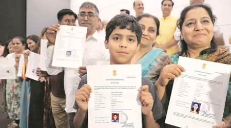 Residents of Pune & Pimpri-Chinchwad for years, 22 Pakistani nationals granted Indian citizenship